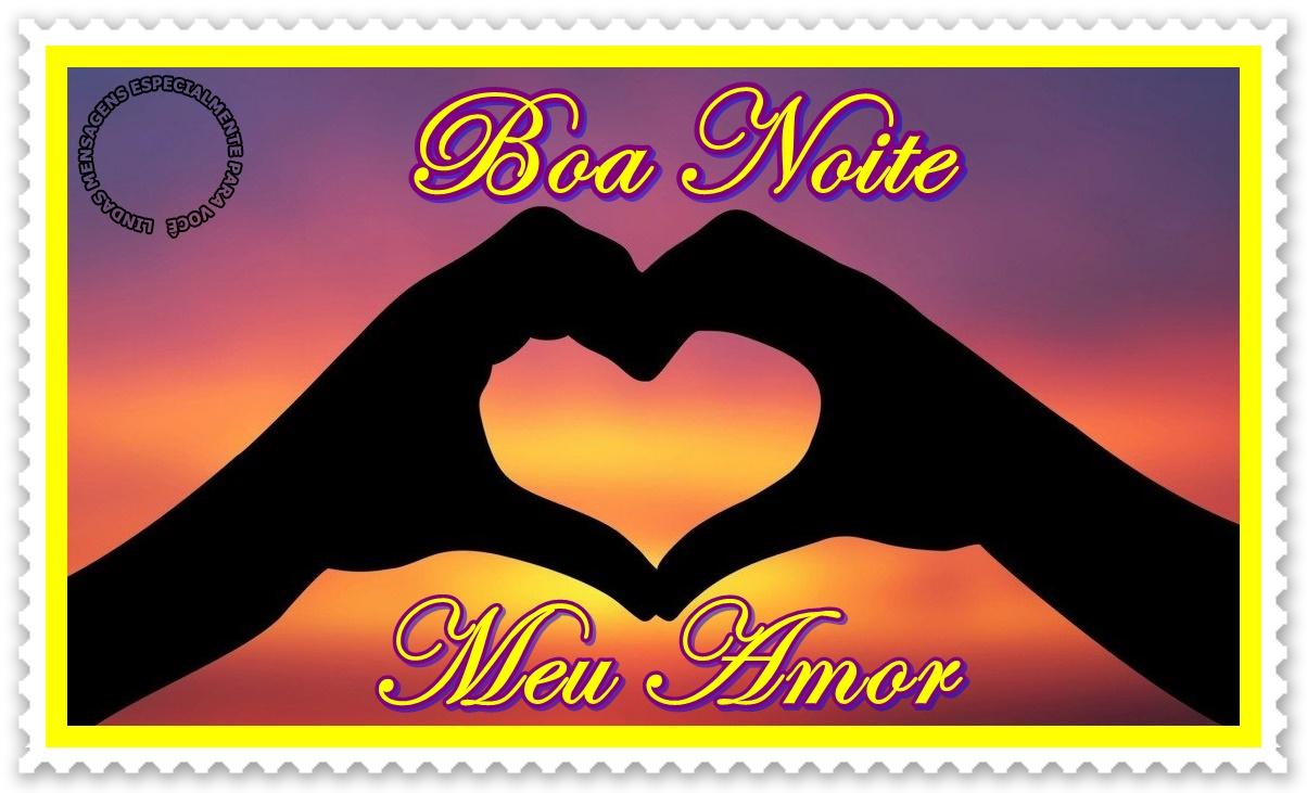 Boa Noite Amor: Mensagem De Boa Noite Meu Amor