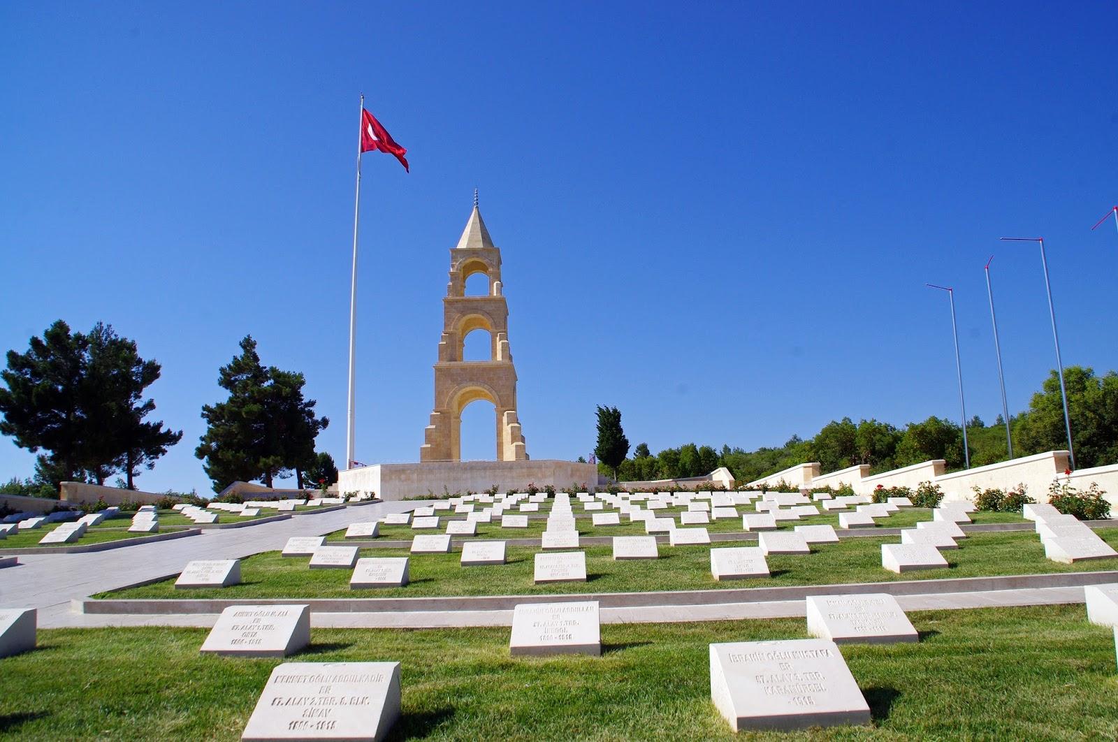 Alay Sehitligi Turkish Memorial Gallipoli