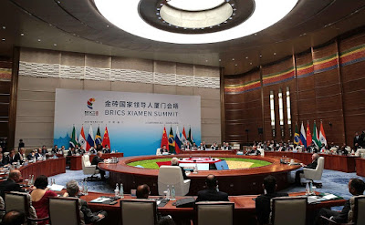 BRICS Leaders' meeting in the expanded format.