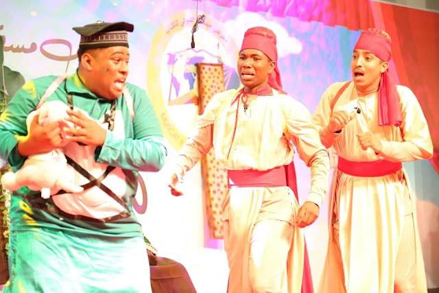 مسرح الطموح يختتم مشاركته في فعاليات معرض مسقط الدولي للكتاب ٢٠١٩