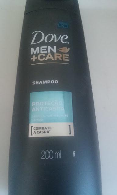 Achegue-se! Dove men + care / proteção anticaspa - Funciona?