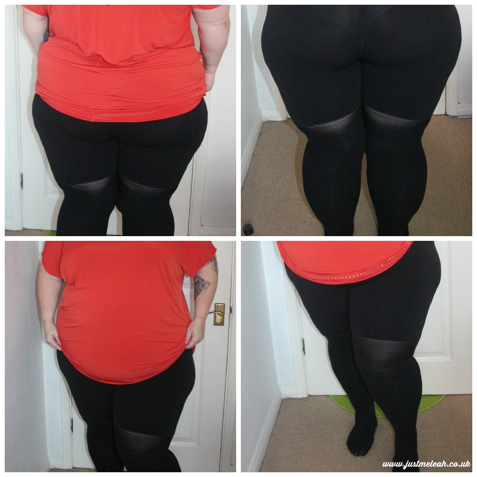 BIG BLOOMERS COMPANY PLUS SIZE TIGHTS IN 180 DENIER