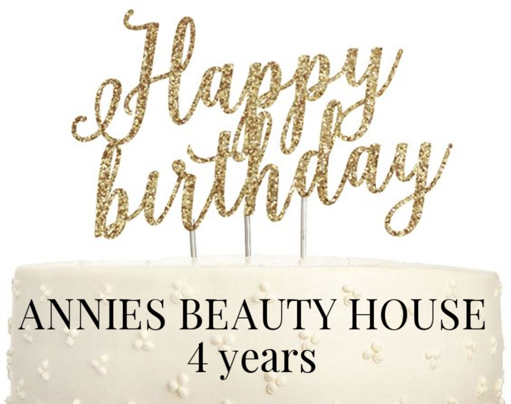 Happy Birthday ANNIES BEAUTY HOUSE - Birthday Cake and Candles for the fashion, beauty and lifestyle blog ANNIES BEAUTY HOUSE, founder and writer - Annie K.