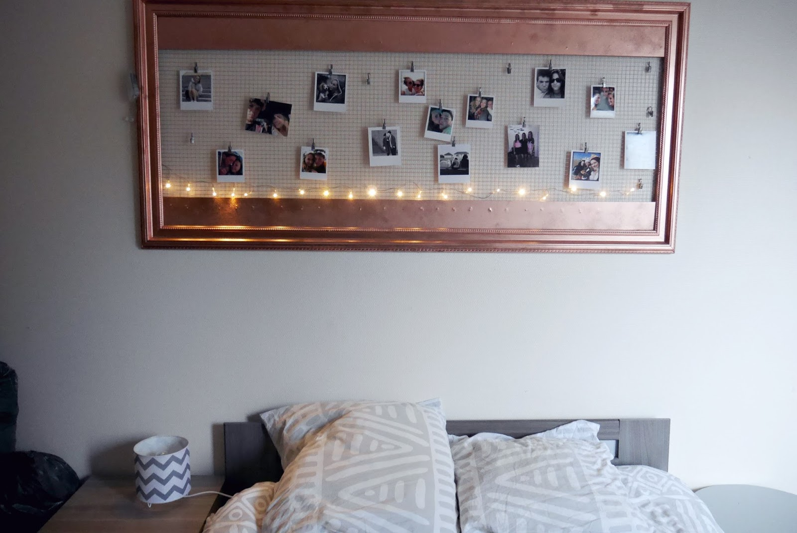 diy mon cadre photo p le m le. Black Bedroom Furniture Sets. Home Design Ideas