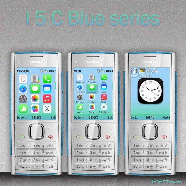 I5 C Blue 240x320 themes free