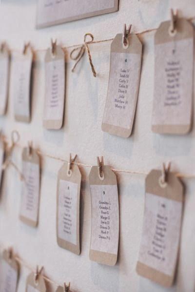 Asignar los asientos en una boda_con cuerda
