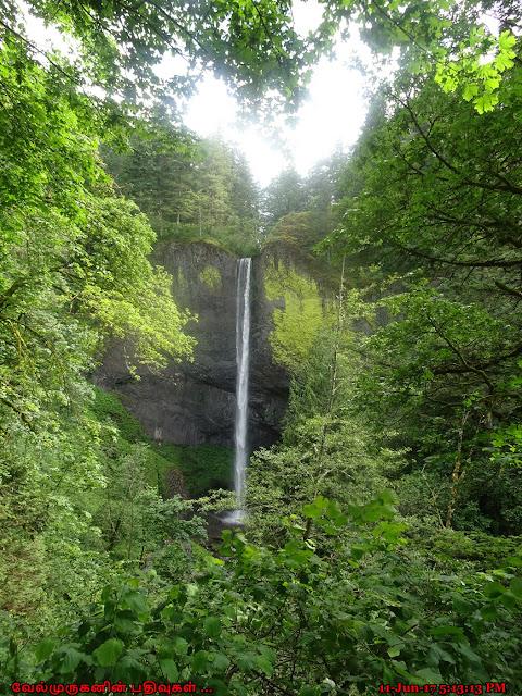 Columnar Basalt Formations Water Falls