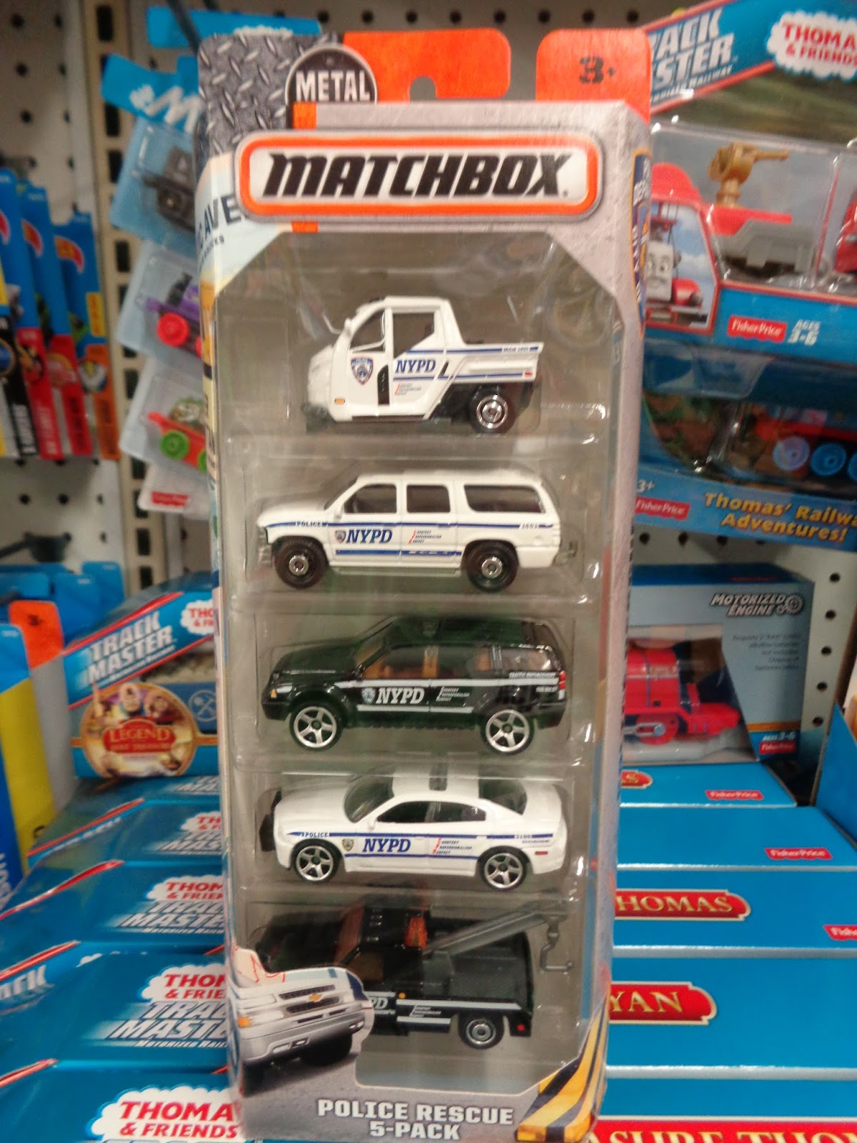 Gmc Vs Chevy >> J And J Toys: New Hot Wheels and Matchbox 5-Packs
