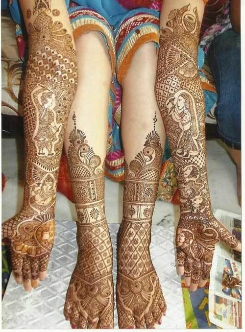 New Rajasthani Mehndi Designs