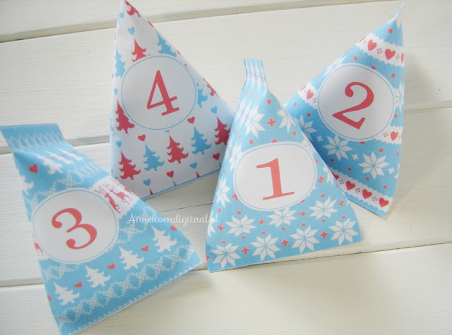 adventskalender knutselen, aftellen naar kerst, advent diy, advent zelf maken, adventskalender zelf maken, adventskalender diy