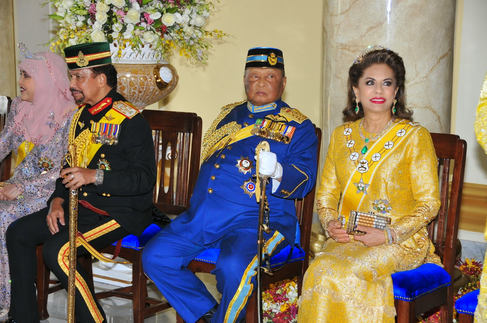 Kee Hua Chee Live!: ARRIVAL OF HIS ROYAL HIGHNESS THE SULTAN OF PAHANG, SULTAN AHMAD SHAH AND ...