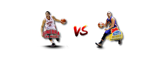 June 17: Ginebra vs Magnolia, 6:45pm Smart Araneta Coliseum