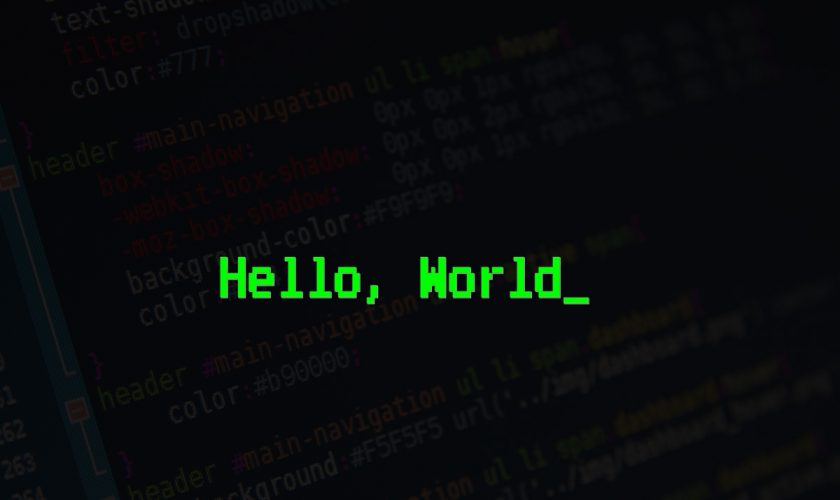 Why Major Programming Languages Are Written In English?