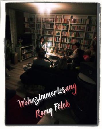Wohnzimmerlesung mit Romy Fölck