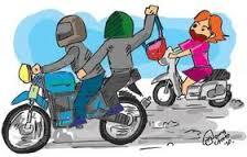 Tips mengantisipasi tindakan kriminal saat mengendarai motor