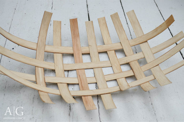 Weaving reed for DIY tobacco basket