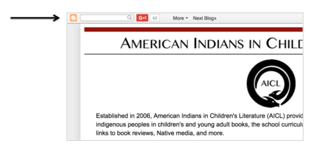 American Indians In Childrens Literature Aicl Search