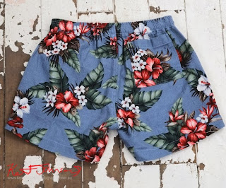 Floral Archie Shorts from Three Over One.