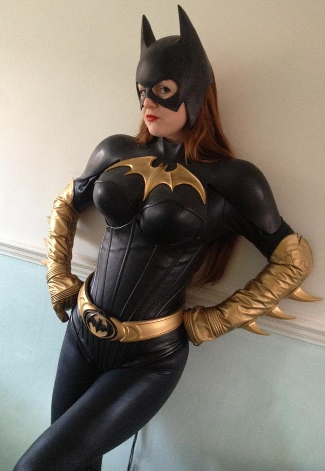 catwoman cosplay and Batman