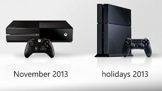 Xbox One and PS 4 Release date