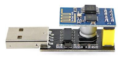 Adaptador com módulo ESP8266 ESP-01