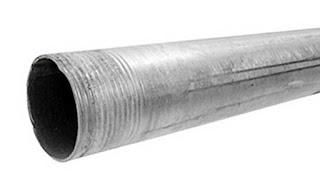 Instalaciones eléctricas residenciales - tubo conduit galvanizado pared gruesa