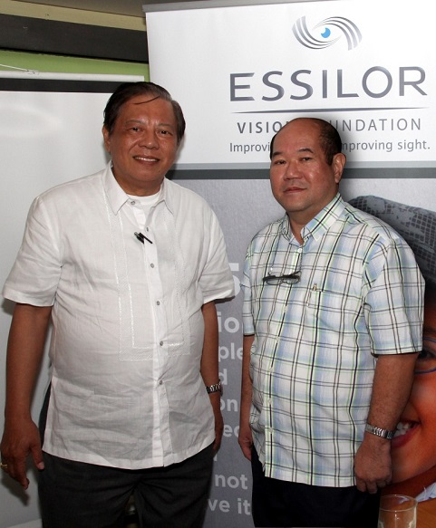 Essilor backs Philippine co-chairs to 2015 Social Impact Summit