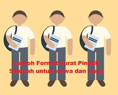 Contoh Format Surat Pindah Sekolah untuk siswa dan siswi