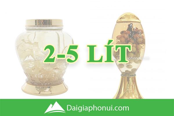 Bình Ngâm Rượu Hàn Quốc (Yongcheon Glass) 2-5 Lít - Dai Gia Pho Nui