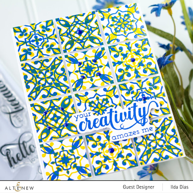 Altenew May 2019 Stamp/Die/Stencil/Ink/Enamel Pin Release Blog Hop + Giveaway by ilovedoingallthingscrafty.com