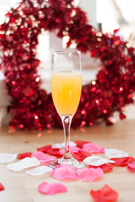 new years eve, new years day, new years cocktails, champagne cocktails, champagne, passion fruit puree, passionate bubbles