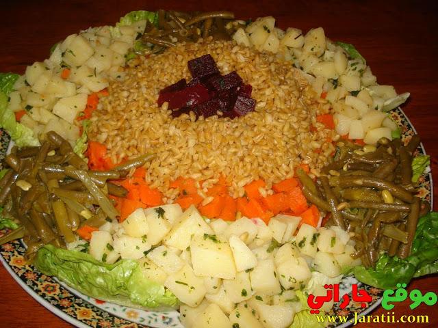 Salade blé