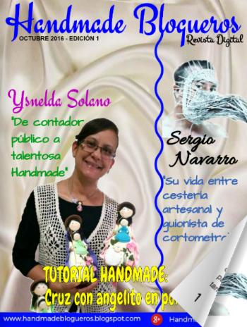 Revista Handmade Blogueros Octubre 2016