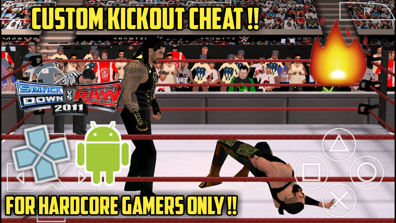 Custom kickout cheat for [ svr 2011 psp ]