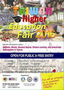 2016 Taiwan Higher Education Fair