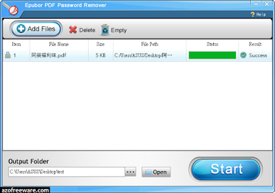 Epubor PDF Password Remover