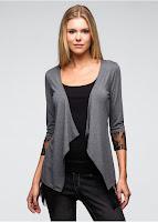 Jachetă tricotată sexy din actuala colecţie Rainbow (bonprix)
