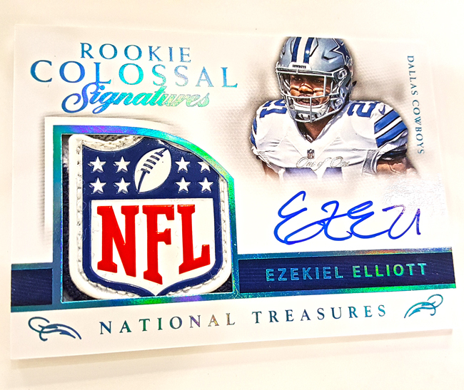 Sports Cards Plus Store Blog 2016 National Treasures 4 Box