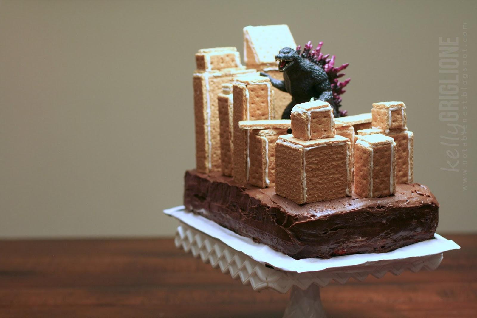Notable Nest Happy Belated Birthday Tracey Godzilla
