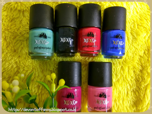 XOXO Peel Off Nail Polish by Face2Face Cosmetics [Review]