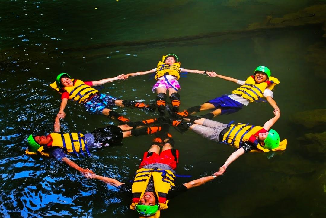 formasi body rafting