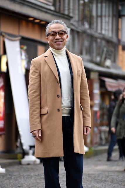 40代メンズのコート スタイル