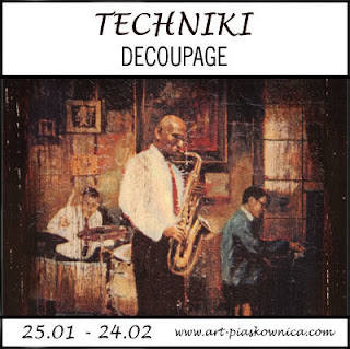 """TECHNIKI """"decoupage"""" - edycja sponsorowana"""