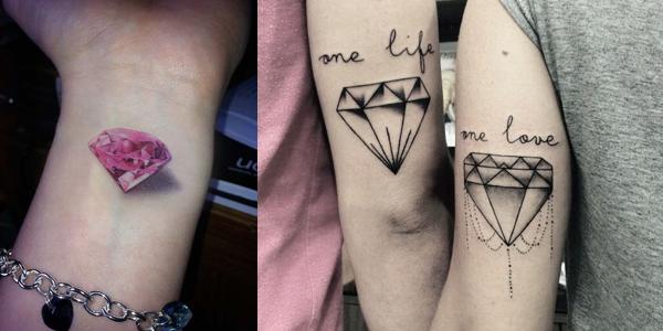 Mytattoolandcom Diamond Tattoo Ideas