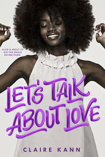 Let's Talk About Love, Claire Kann, Book Scoop, InToriLex