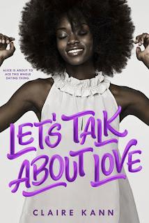 Let's Talk About Love, Claire Kann, Book Scoop, InToriLex