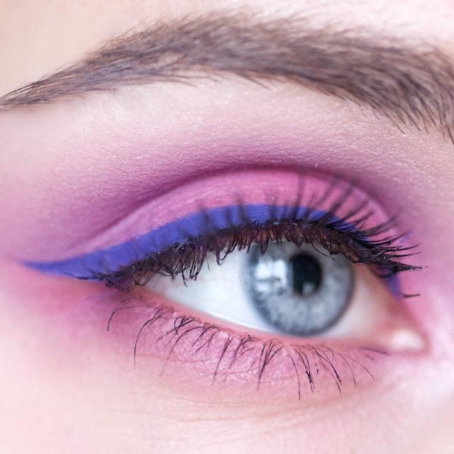 NYX_Ultimate_Eyeshadow_Palette _Brights_макияж_глаз_с_яркими_тенями