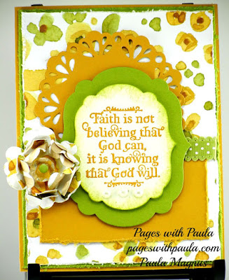 ODBD God Quotes, Card Designer Paula Magnus