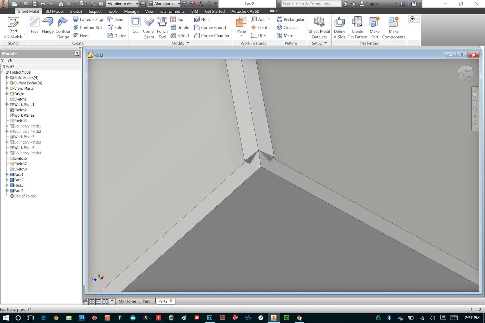 Bryan Cera Autodesk Inventor Sheet Metal Made