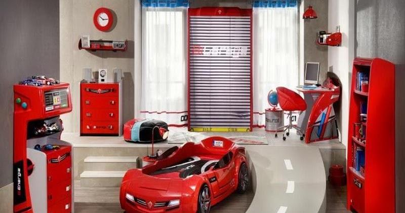 Race Car Bedroom Boy Decorating Idea
